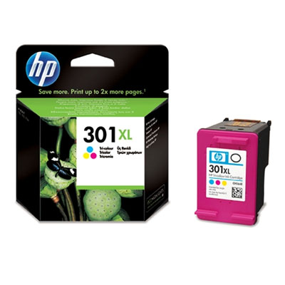 HP 301XL Tri-colour Ink Cartridge - CH564EE