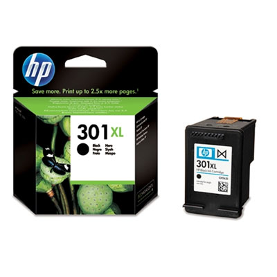 HP 301XL Black Ink Cartridge - CH563EE