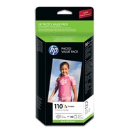 HP 110 Series Photo Value Pack-140 sht/10 x 15 cm